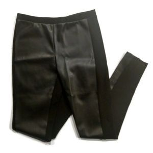 Anthropologie DREW Faux leather front pant